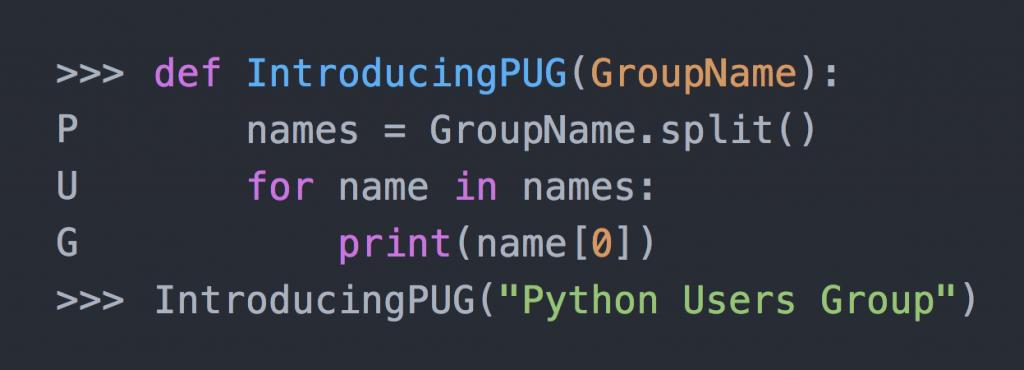 Python Users Group