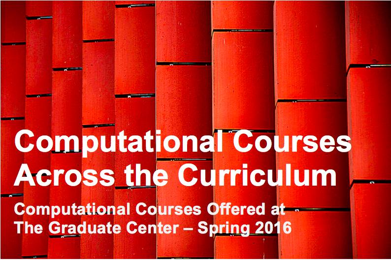Computational Courses Across the Curriculum