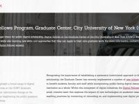 screenshot GCDI on the Praxis Program website